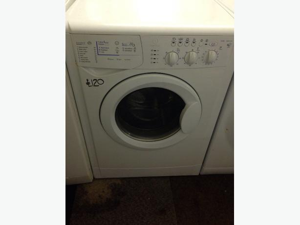 INDESIT 4KG WHITE WASHER / DRYER