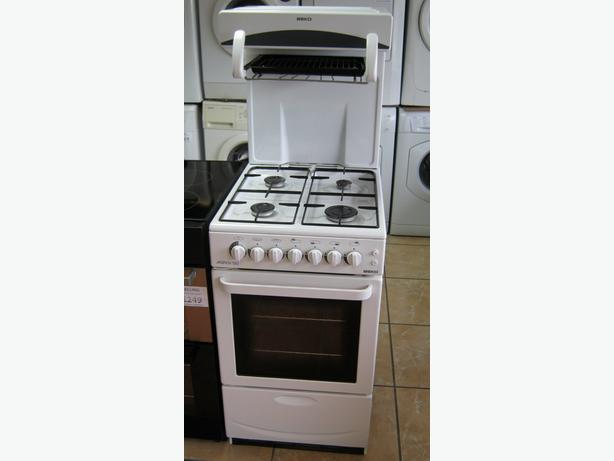 Beko 50cm High Level Grill Gas Cooker with FSD, 6 Month Warranty