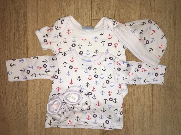 Baby boy set 0-3 months.