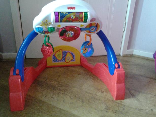 Fisher price baby musical kicker