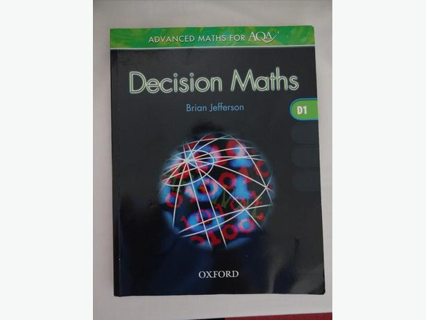 A Level AQA Advanced Maths Decision 1 book