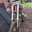 125 pitbike crf70 frame