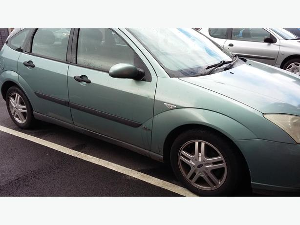 Ford Focus Petrol Zetec (Aqua Colour) ONLY 73K Miles, £450 OVNO