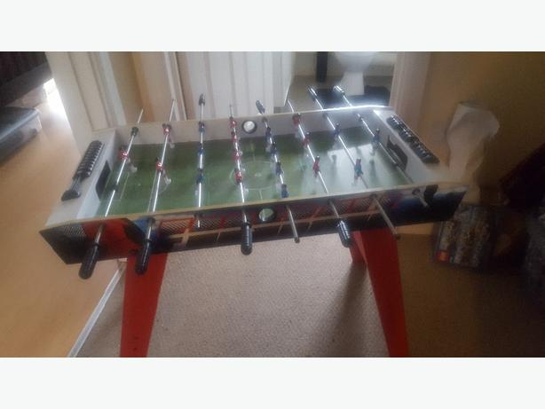 4 ft childrens football table.