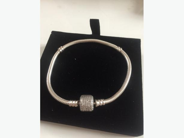 genuine pandora bracelet charms safety chain