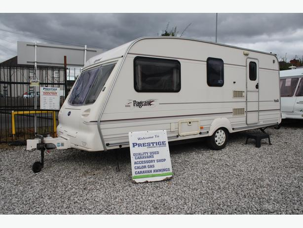 BAILEY PAGEANT  MOSELLE 4 BERTH CARAVAN