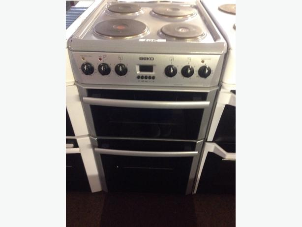 GREY 50CM PLATED BEKO ELECTRIC COOKER