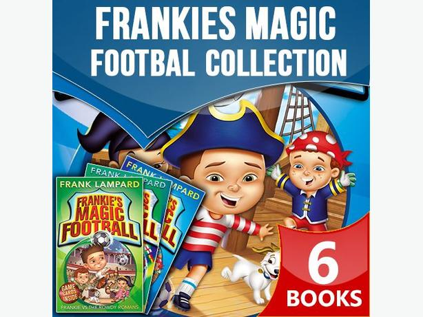 Frankies Magic Football Collection 6 Books Set Frankie vs The Pirate Pillagers