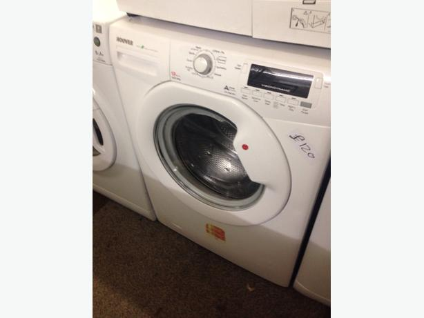 HOOVER LCD DISPLAY 9KG WASHING MACHINE WHITE