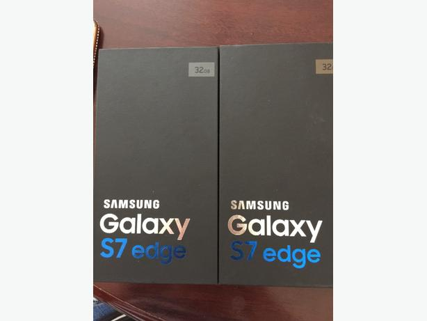 samsung galaxy s7 edge Silver&Gold 600each
