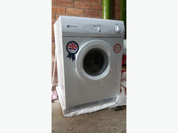 WHITE KNIGHT C44AW Vented Tumble Dryer - White