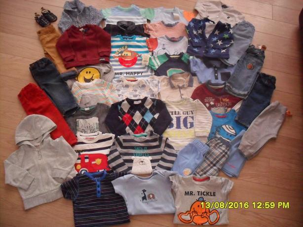 big bundle of39 items for   9-12 months clothes for boy