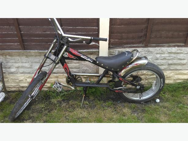 Stingray chopper bike
