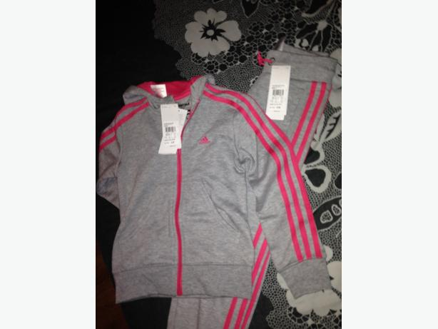 Brand new girls adidas tracksuit with tags!!!