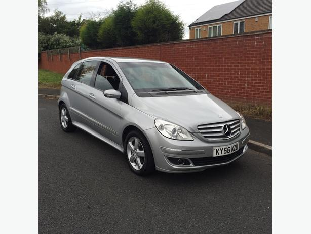 mercedes b class b180 cdi 2006 56 plate top spec walsall. Black Bedroom Furniture Sets. Home Design Ideas