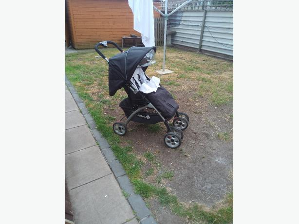 safety first pram with car seat
