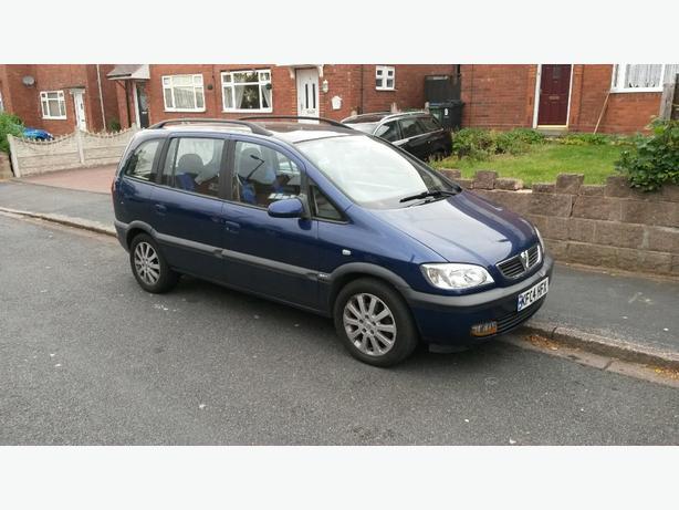 Vauxhall zafira 7 seater bargain
