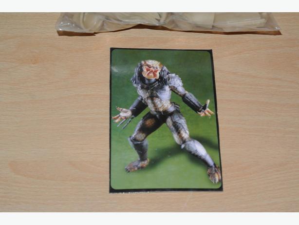Predator poly vinyl model kit.