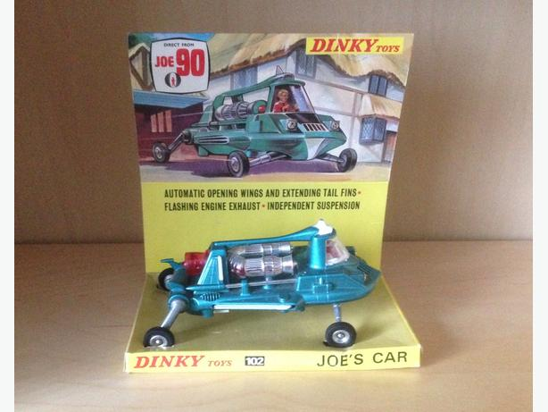 Dinky Joe 90 car. Boxed with display stand. Gerry Anderson
