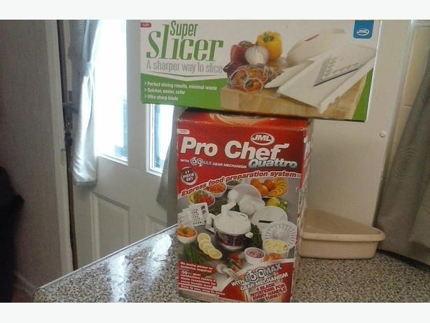 PRO CHEF &SUPER SLICER