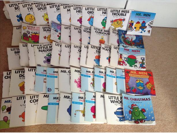55 little miss & Mr books