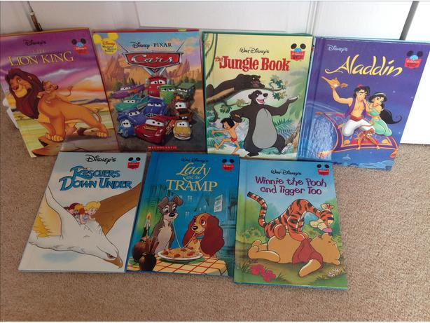 brand new disney 7 books