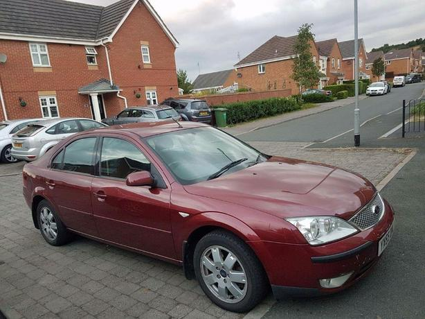 ford mondeo top spec 12 months mot