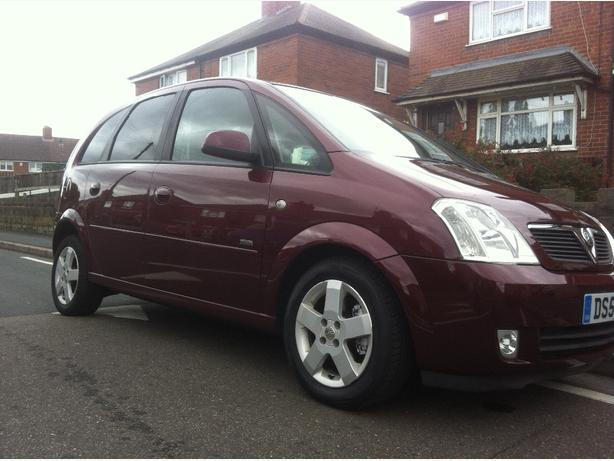 vauxhall meriva 1.8 full mot 2 keeper new £750