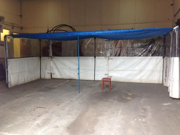 20x10 ft walk in market stall
