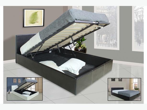 Como Ottoman Storage Bed