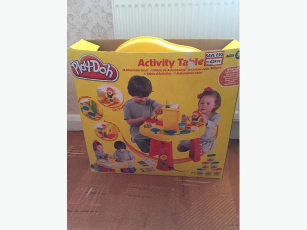 play doh table