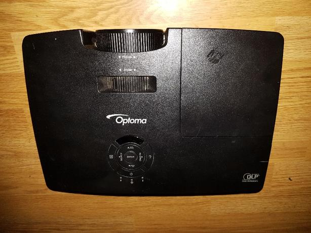 optoma projector s316 and screen
