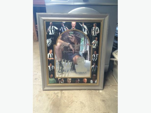 vintage west bromwich albion mirror