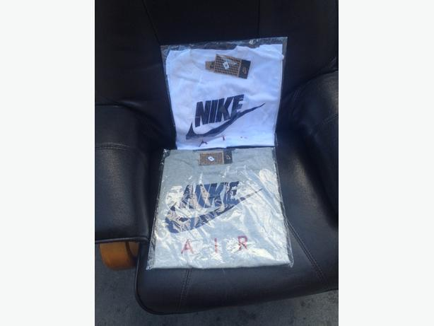 two nike air tshirts brand new