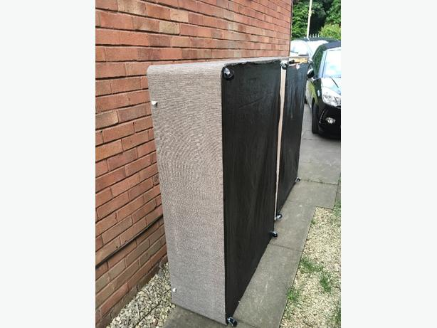FREE: DIVAN DOUBLE BED BASE WITH 2 DRAWERS