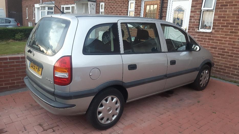 Vauxhall Zafira 1 6 Petrol 7 Seater Dudley Sandwell