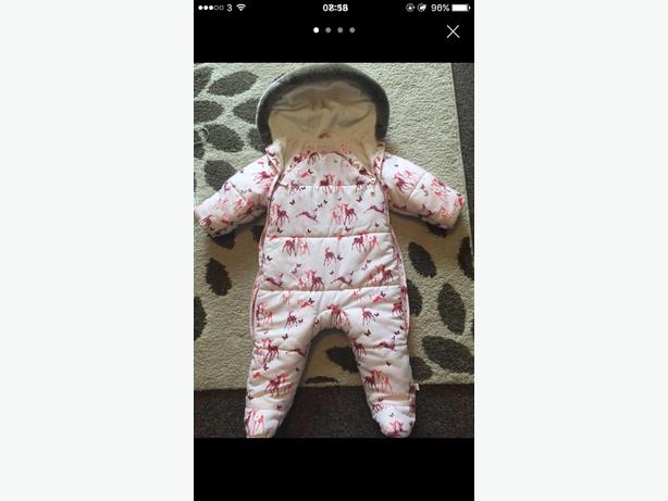 baby girls Ted baker snowsuit 6-9 months