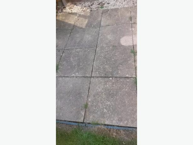 2x2 slabs  patio area/ shed base