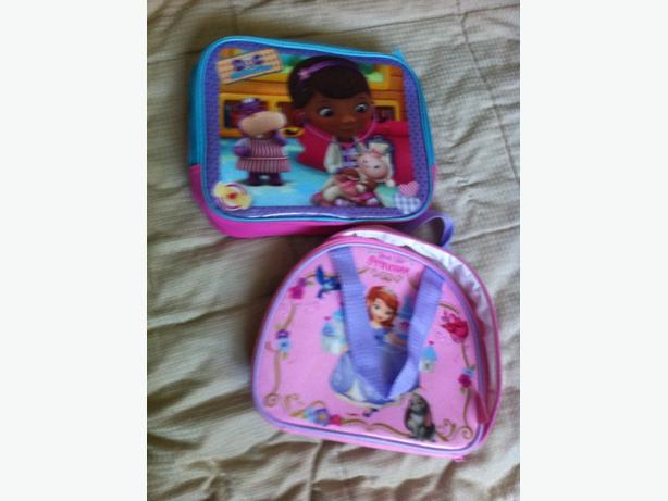 Doc McStuffins / real life princess Lunch bags