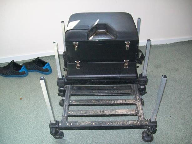 PRESTON ONBOX SEAT BOX