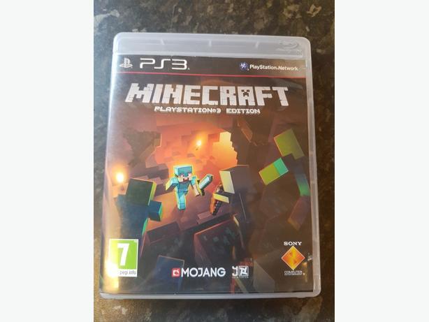PS3 Game Minecraft