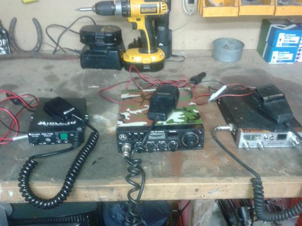 cb radio     cb radio's x 3