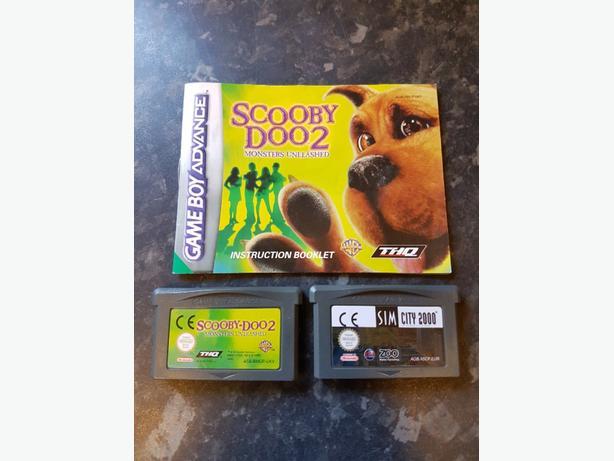 x2 Gameboy Advance Games