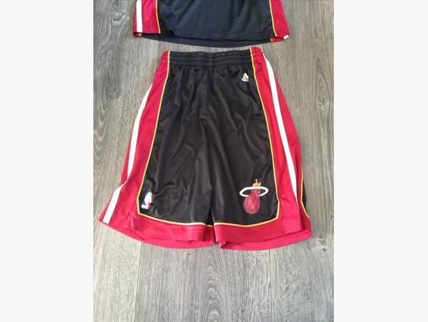 Miami heat jersey and shorts