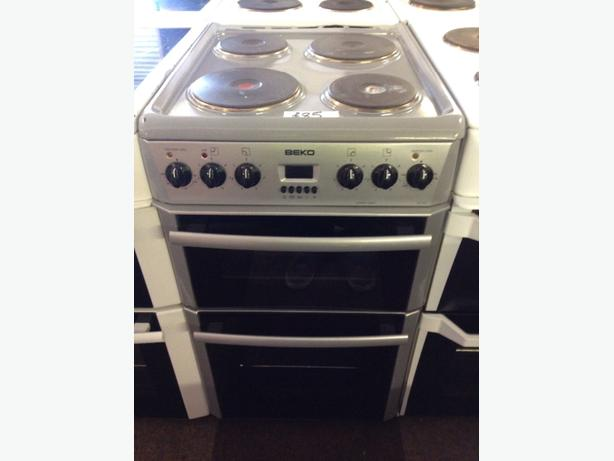BEKO PLATED ELECTRIC COOKER 50CM