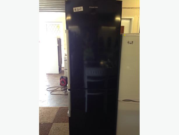 BLACK RH FRIDGE / FREEZER