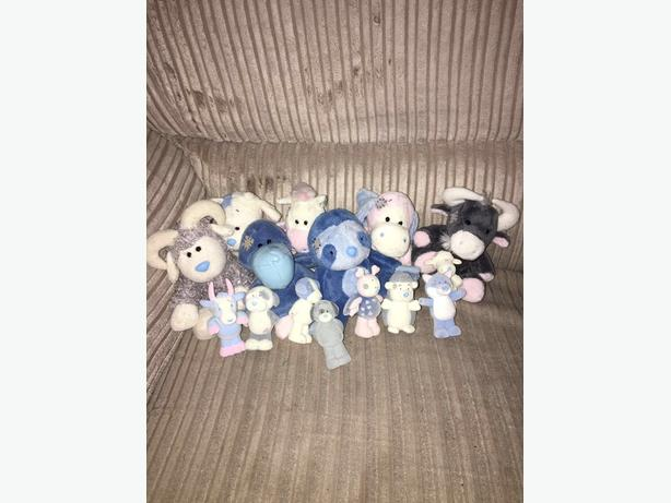 blue nose bears and figures