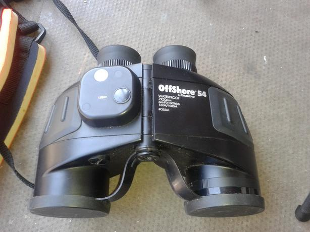 tasco offshore 54 range finder  binoculars and sporting scope