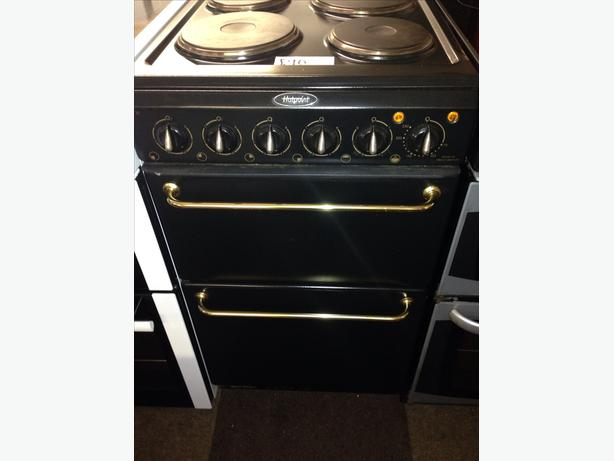 HOTPOINT ELECTRIC COOKER 50CM2 BLACK1