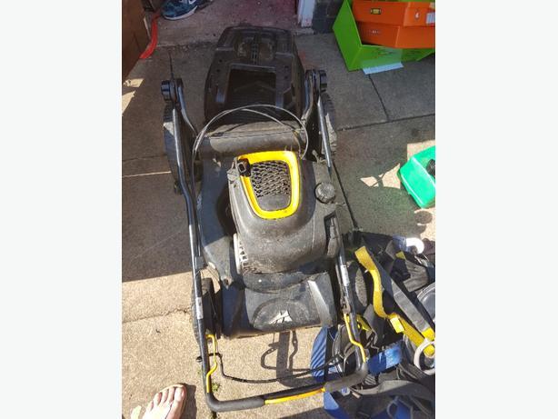 mcchullach petrol lawn mower
